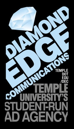 Diamond Edge Communications business card