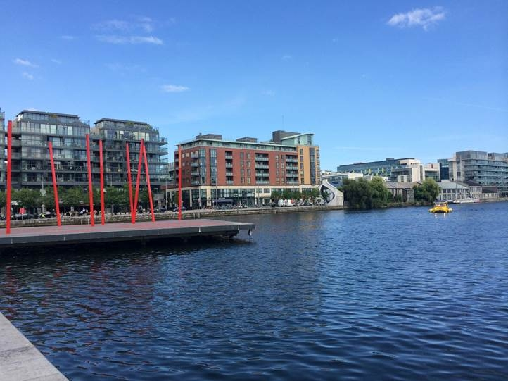 waterfront buildings in Dublin