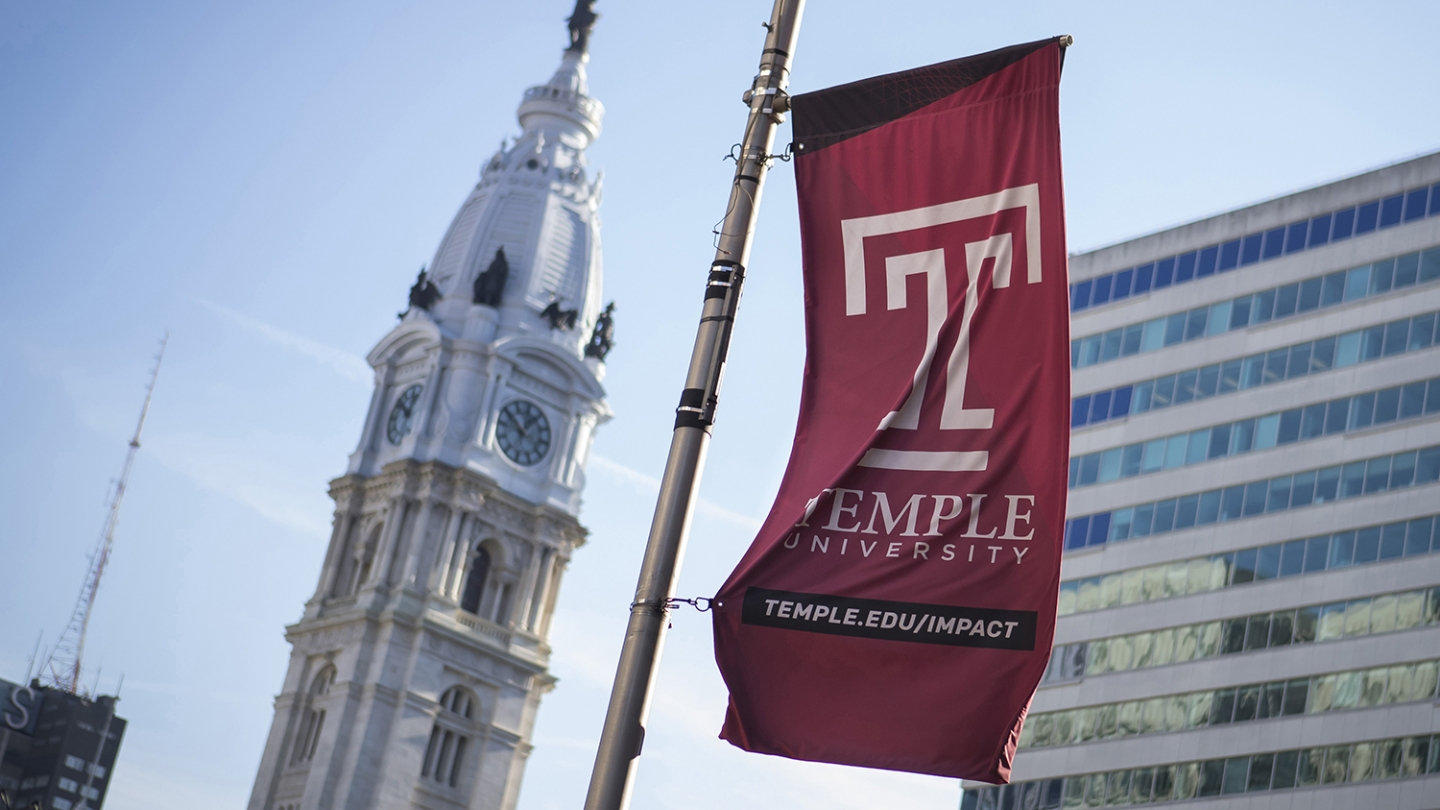 Stock Temple Image Flags